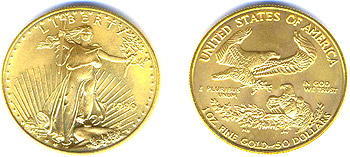 Gold Bullion Eagles